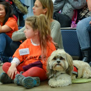 Dr. Binfet: Interaction with Canines Builds Children's Confidence